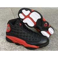 "Air Jordan 13 ""Bred"" Basketball Shoes 36-47"