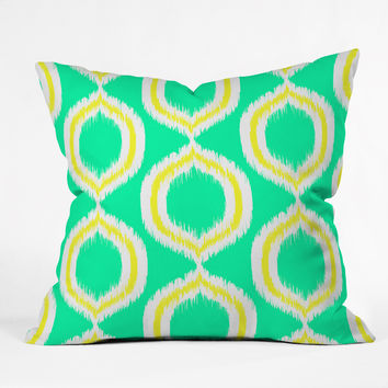 Rebecca Allen So Fresh 1 Outdoor Throw Pillow