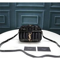 YSL Women's Leather Shoulder Bag Satchel Tote Bags Crossbody