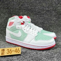 Women's and Men's NIKE Air Jordan 1 generation high basketball shoes 029