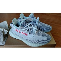 Brand New Adidas Yeezy Boost 350 V2 Blue Tint Men's Size 6 US B37571