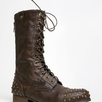 Studded Combat Boots