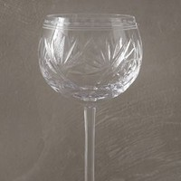 Zedora Red Wine Glass by Anthropologie in Clear Size: Red Wine Glassware
