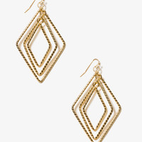 Dangling Geo Earrings