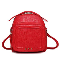 Stylish Backpack Mini One Shoulder Bags Messenger Bags [4982894532]