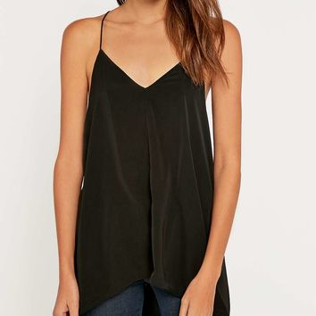 Noisy May Silas Strappy Black Dress - Urban Outfitters