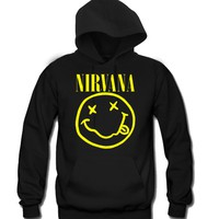 Nirvana Unisex Hooded Sweatshirt Funny and Music