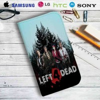 Left 4 Dead Gameplay Leather Wallet iPhone 4/4S 5S/C 6/6S Plus 7| Samsung Galaxy S4 S5 S6 S7 NOTE 3 4 5| LG G2 G3 G4| MOTOROLA MOTO X X2 NEXUS 6| SONY Z3 Z4 MINI| HTC ONE X M7 M8 M9 CASE