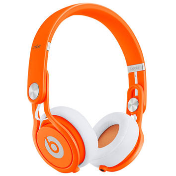 Beats By Dre Limited Edition Mixr Headphones Neon Orange One Size For Men 22247770001