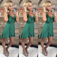 This is for Me Dress: Green