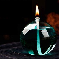 Fashion Oil Glass Candle Holders Transparent Candlesticks Romantic Dinner Home Decoration Candle Holder