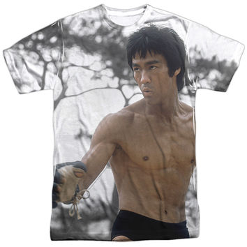 BRUCE LEE BATTLE READY OFFICIAL LICENSED 3D TEE T-SHIRT