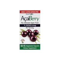 Acai, 1000 mg per Daily Serving 75 Capsules by Natrol