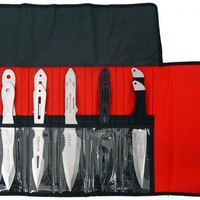 """9"""" Set of 12 Assorted Throwing Knives"""