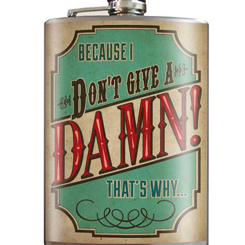 Don't Give A Damn Flask