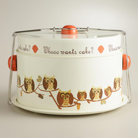 Owl Cake Carrier - World Market