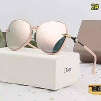 Dior Woman Fashion Summer Sun Shades Eyeglasses Glasses Sunglasses 2#