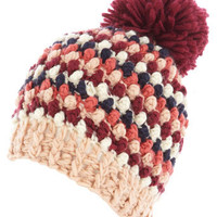 Bobble knitted beanie - Hats   - Accessories