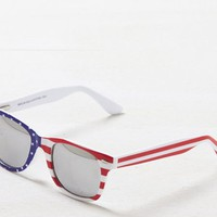 AEO Men's Flag Printed Icon Sunglasses (Americana)