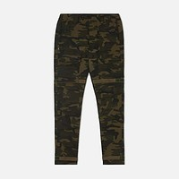 Strapped Up Pants Army Camo Fatigue