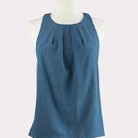 Amalfi Pleated Halter Top