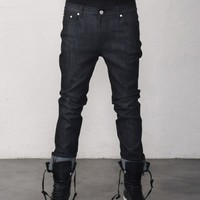 Dry Power Raw Stretch Rigid Denim Jeans