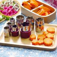 Cuisine Kitchen Accessories Cooking Tools Fruits Vegetables Perfect Slicer Watermelon Flower Cutter Cake Mold Kitchen Gadgets