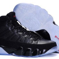 AIR JORDAN 9 (BLACK/ WHITE)