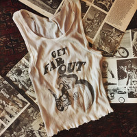 PREORDER - Get Far Out salvaged tank