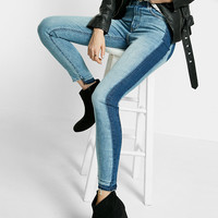 High-Waisted Ankle Jean Leggings