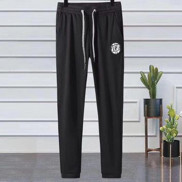 Fendi tide brand men's casual outdoor sports beam foot pants