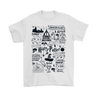 PEAPINY Harry Potter The Life In Hogwarts Shirts