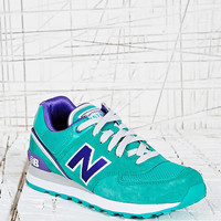 New Balance 574 Runner Trainers in Green - Urban Outfitters