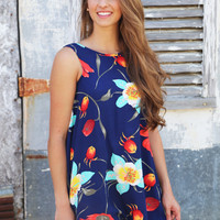 Full Bloom Tank Dress