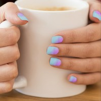 """oversprayed"" abstract minx® nail wraps"