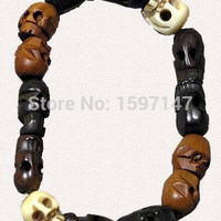 Hot Movie Supernatural Dean Bracelet Winchester Jensen Ackles Skull Ball Bracelet