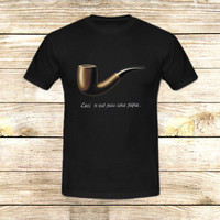 The Fault in Our Stars Ceci n'est pas une pipe on T shirt