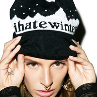 Reason Hate Winter Mount Beanie BLACK One