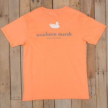 Southern Marsh Authentic Tee- Melon