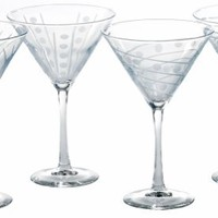 ARC Uptown Assorted 10-Ounce Martinis, Set of 4