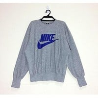 """NIKE"" Round Neck Top Pullover Sweater Sweatshirt"