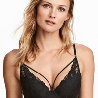 H&M Padded Underwire Lace Bra $19.99