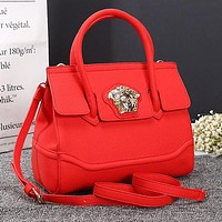 Versace Fashionable Women Leather Handbag Tote Shoulder Bag Crossbody Satchel