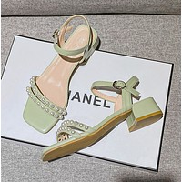 New fashion thick heel sandals women's shoes