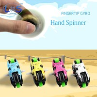2 pieces/set New creative motorcycle hand spinner EDC fidget spinner For Autism And ADHD Anti Stress top Spinner Fidget Toy gift