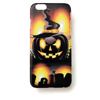 iPhone 6 Case Cover Halloween Pumpkin 6 Hard Case Spooky Back Cover For iPhone 6 Slim Design Case Halloween Scary Trick Or Treat 6614