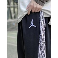 Jordan A kind of Dior Plush Jordan Dior side panel Plush warm Terry pants