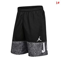 Jordan New fashion letter people print couple shorts 1#