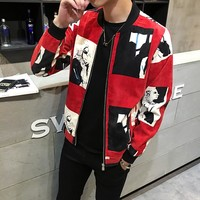 Brand Jacket Coat For Men Spring Autumn Jackets Hip Hop Coat Men Jacket Slim Mens Outerwear Manteau Homme Bomber Jacket 3XL 4XL
