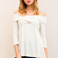 Xena Off the Shoulder Sweater